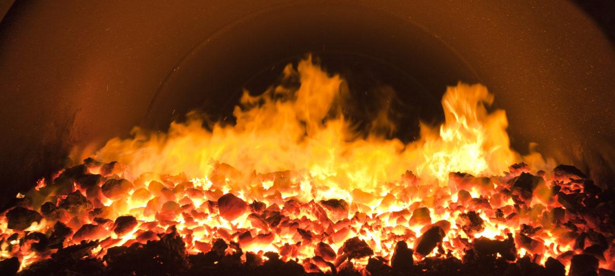 spalanie węgla